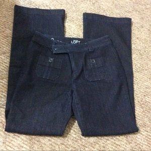 LOFT Flare Dark Blue Ladies Jeans